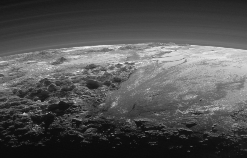 A closer look at Pluto's majestic mountains and frozen plains