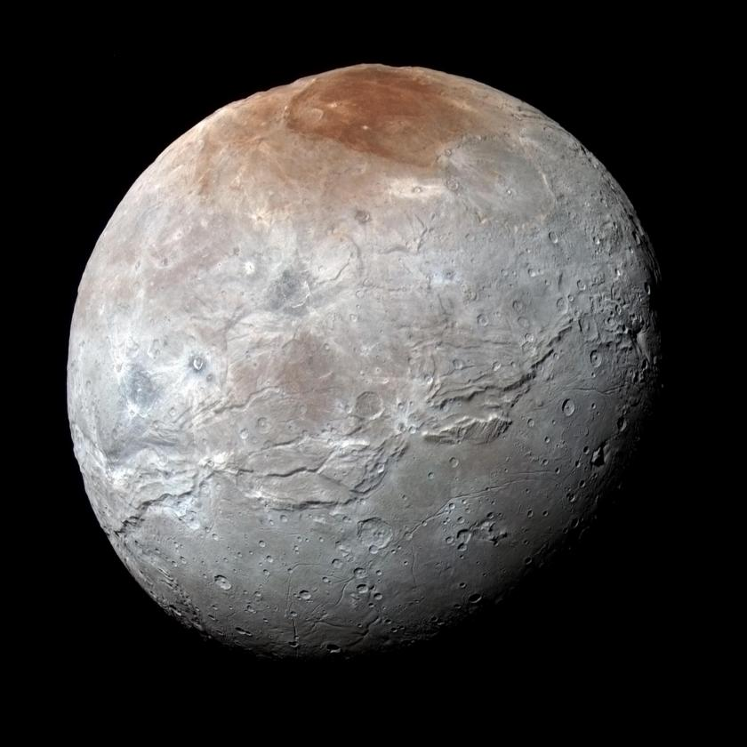 Color global portrait of Charon from Ralph MVIC