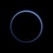 Pluto's blue skies