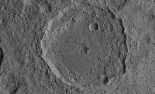 Gaue crater, Ceres
