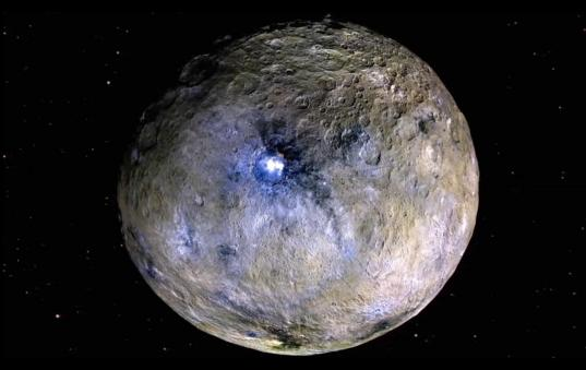 Ceres in false-color