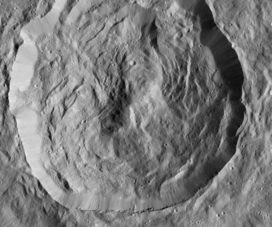 Unnamed crater