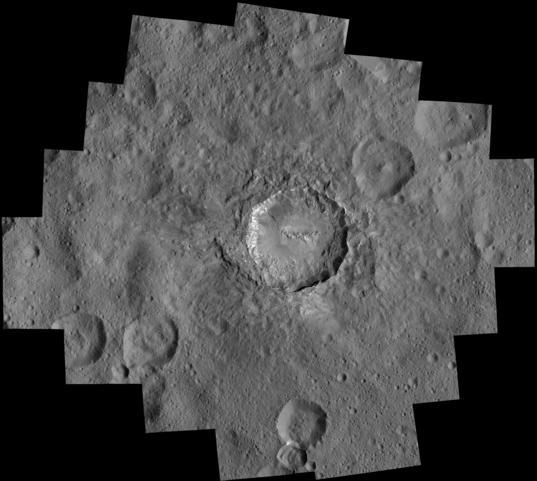 Haulani Crater at LAMO