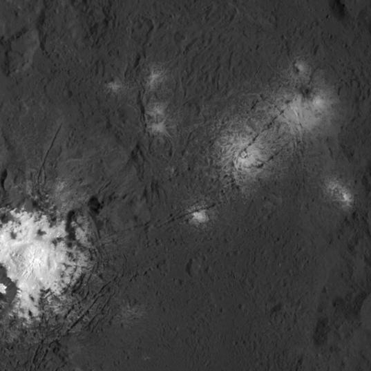 Salt in Occator Crater