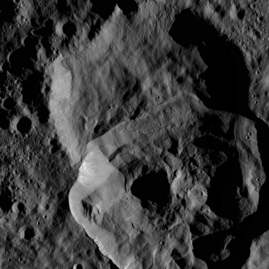 Craters upon craters