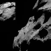 Views of the Rosetta landing site (low sun)