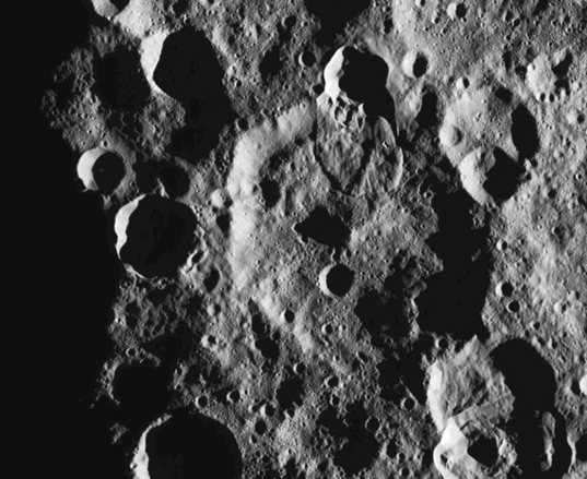 Shadows on Ceres