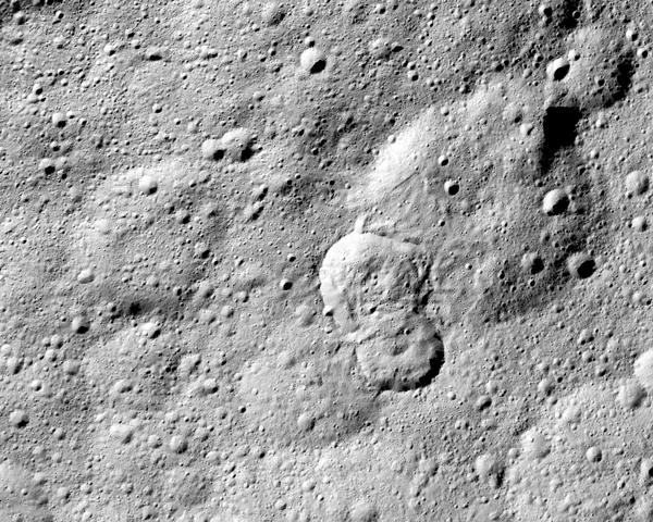 Overlapping craters on Ceres