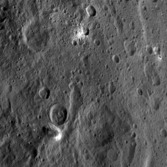 Ahuna Mons and surroundings
