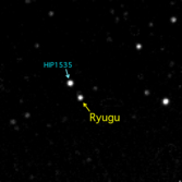 First light on Ryugu for Hayabusa2 (annotated)