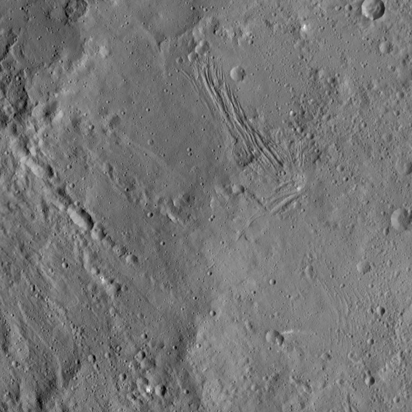 Floor of Yalode Crater