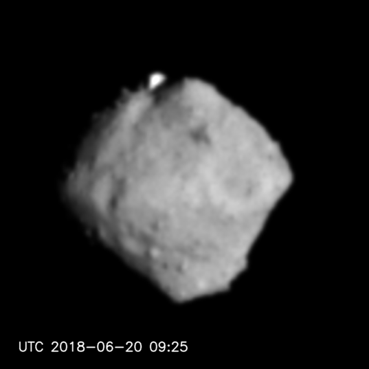 Ryugu from 100 km
