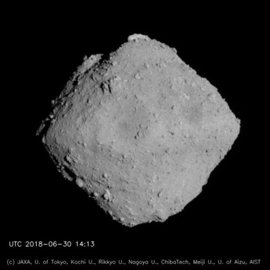 Ryugu global view 1, 20 km