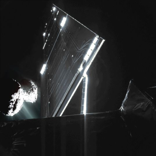 Rosetta approaching Comet 67P