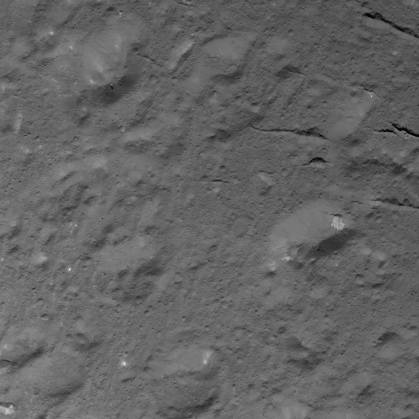 Domes and fractures south of Cerealia Facula