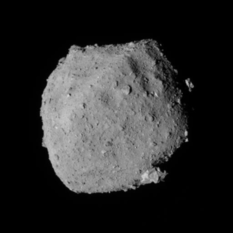 Ryugu from the south, 24 August 2018