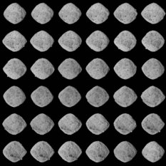 Bennu from all angles montage, 2 November 2018