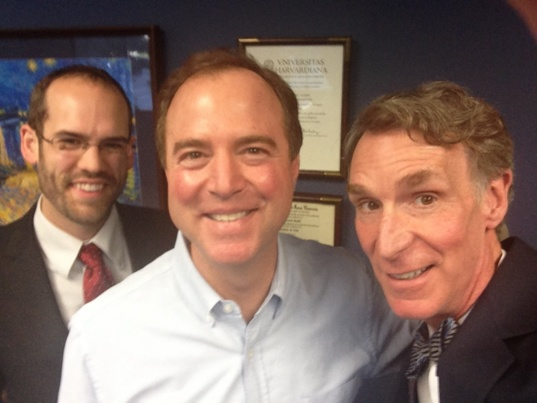 Meeting with Rep. Adam Schiff