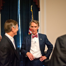 Bill Nye Speaks to House Science Chairman Lamar Smith