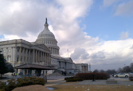 The U.S. Capitol During the Space Exploration Alliance's 2014 Legislative Blitz