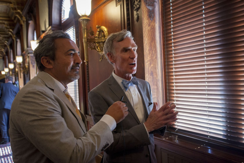 Rep. Ami Bera (D-CA) interviews Society CEO Bill Nye