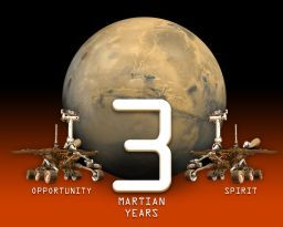 Three years on Mars