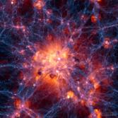 Illustris simulation of the universe
