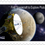 Concept for a New Horizons U.S. postage stamp