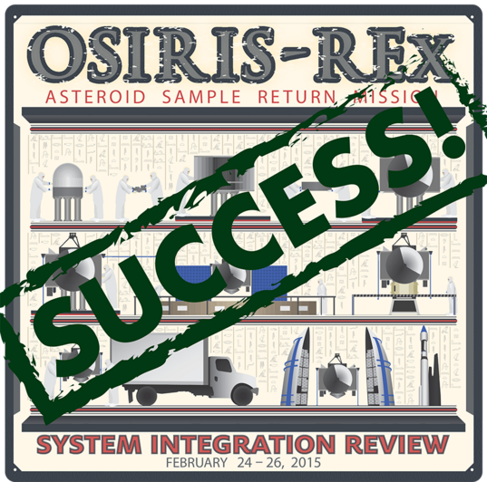 OSIRIS-REx System Integration Review