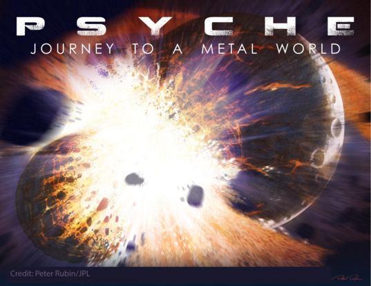 Psyche mission art