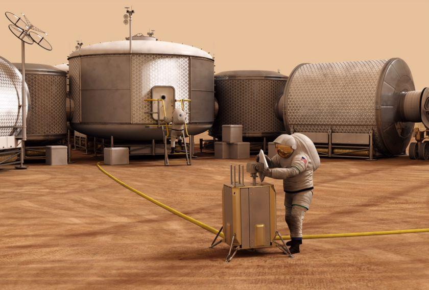 Mars station concept