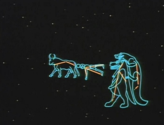 Ancient Egyptian Usra Major Constellation