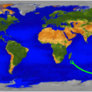UARS reentry map