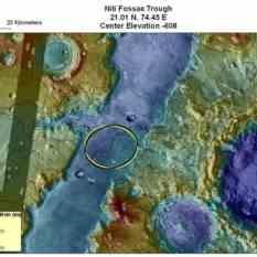 Potential MSL landing site in Nili Fossae
