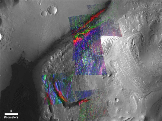 Gale Crater mineralogy