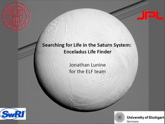 Enceladus Life Finder
