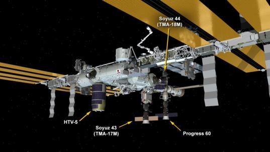 Station vehicle configuration, Sept. 11, 2015