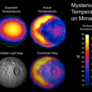 Anomalous temperatures on Mimas