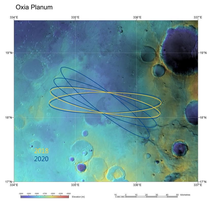 ExoMars 2018 candidate landing site: Oxia Planum