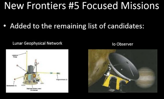 New Frontiers #5 focused missions