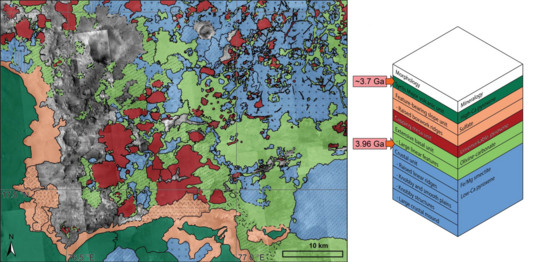 Geology of Northeastern Syrtis Major