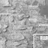 Phil Stooke's Curiosity route maps (updated to sol 1467)