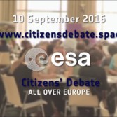 ESA Citizens' Debate