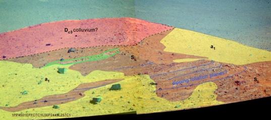 Geology of Spirit Mound
