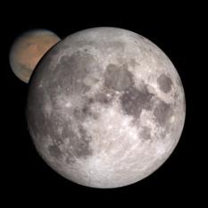 Moon or Mars?