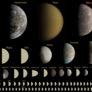 Every round object in the solar system under 10,000 kilometers in diameter, to scale [DEPRECATED]
