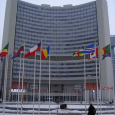 The United Nations Building in Vienna