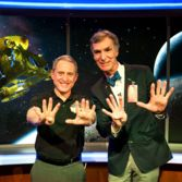 Alan Stern and Bill Nye celebrate the Pluto Flyby at Johns Hopkins University Applied Physics Laboratory