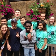 The SpaceUp London organising team