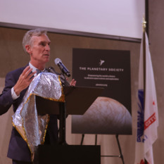 Bill Nye at the Australian Embassy